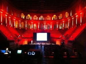 Illuminazione ambientale per evento